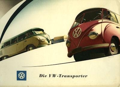 VW Mappe für Transporter Prospekte 1952 0