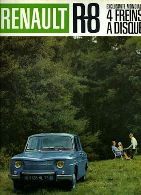 Renault R 8 Prospekt 1960er Jahre 0