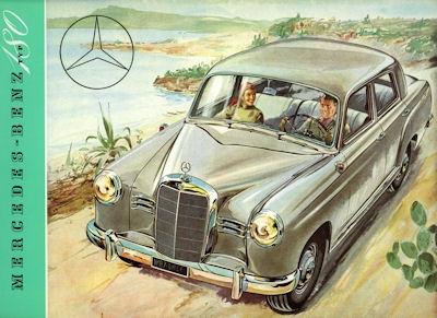 Mercedes-Benz 180 Prospekt 11.1953 Reprint 0