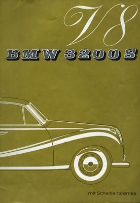 BMW 3200 S Prospekt 10.1962 0