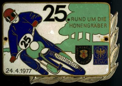 Plakette Delmenhorst ADAC 24.4.1977