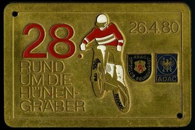Plakette Delmenhorst ADAC 26.4.1980