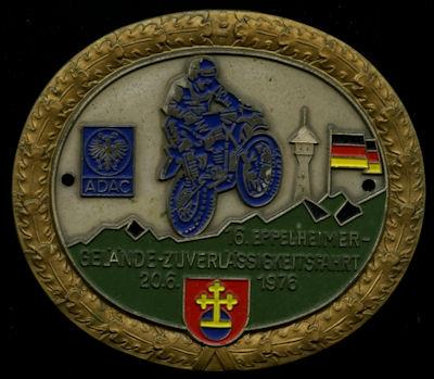 Plakette Eppelheim 20.6.1976 0