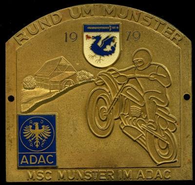 Plakette Rund um Munster 1979