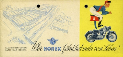Horex Programm 1955