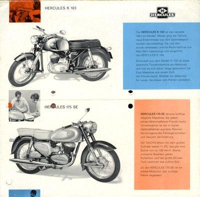 Hercules Programm ca. 1964 1