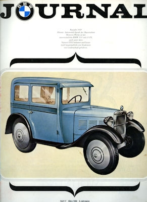 BMW Journal Heft 17 1966 0