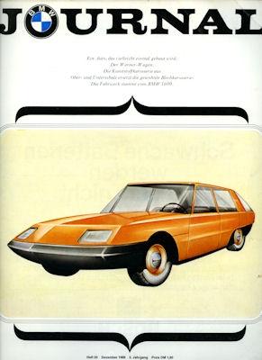 BMW Journal Heft 20 1966 0