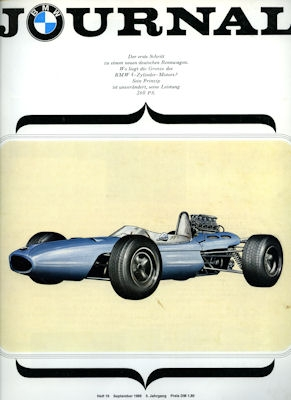 BMW Journal Heft 19 1966