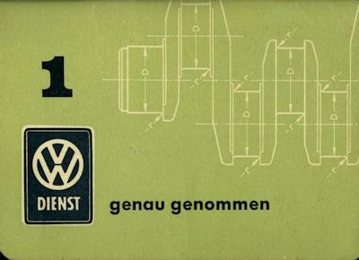 VW Genau genommen Nr.1 1.1961 0