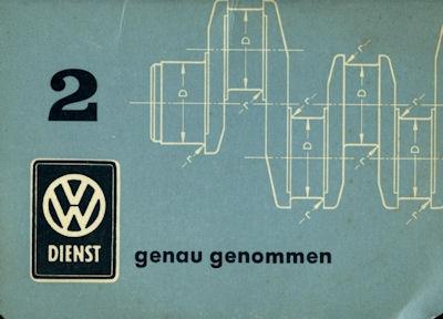 VW Genau genommen Nr.2 1.1961 0