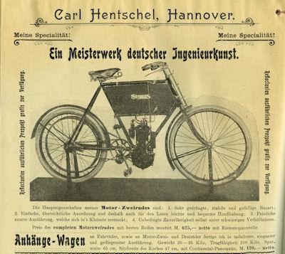 Hentschel, Carl / Hannover Fahrrad Teile Katalog 1904 5