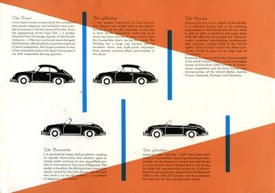 Porsche 356 A Prospekt 4.1958 e 1