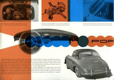 Porsche 356 A Prospekt 4.1958 e 2