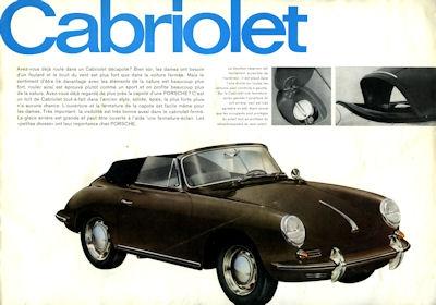 Porsche 356 C Prospekt 9.1963 f 2