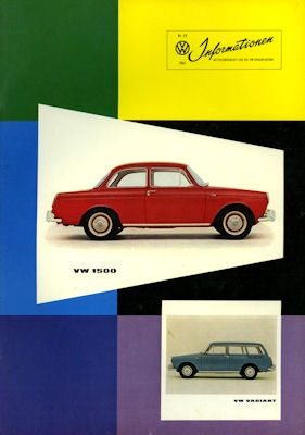 VW Informationen Heft 59 1961 0
