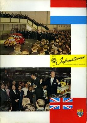 VW Informationen Heft 73 1962 0
