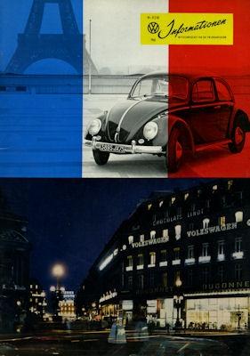 VW Informationen Heft 57/58 1961 0