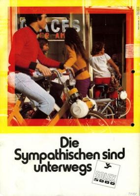 Velosolex 5000 6000 Prospekt 1973 1