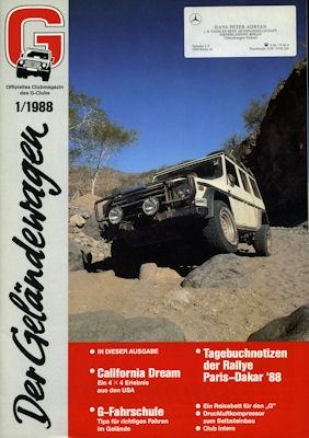 Mercedes-Benz Der Geländewagen 1.1988 0