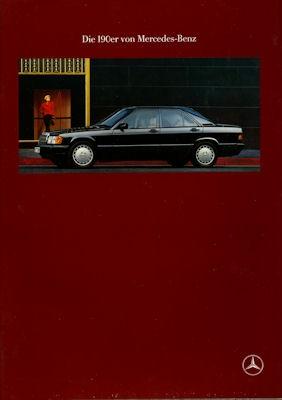 Mercedes-Benz 190 Prospekt 1990 0