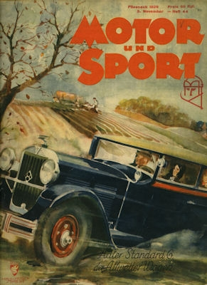 Motor & Sport 1929 Heft 44 0