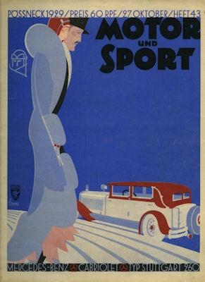 Motor & Sport 1929 Heft 43 0