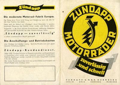 Zündapp Programm 5.1930