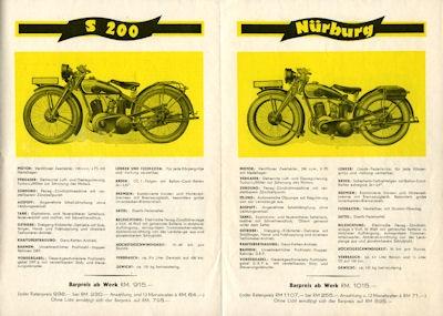 Zündapp Programm 5.1930 2