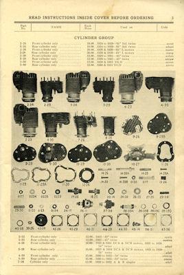 Harley-Davidson Ersatzteilliste 1928-1932 1