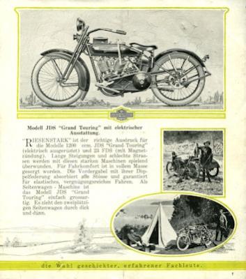 Harley-Davidson Programm 1923 d 2