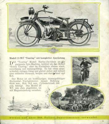 Harley-Davidson Programm 1923 d 3