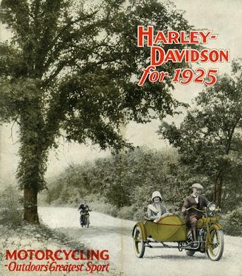 Harley-Davidson Programm 1925