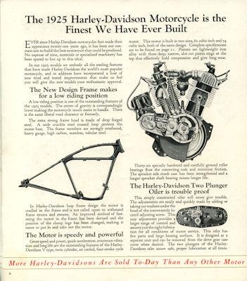 Harley-Davidson Programm 1925 3