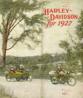 Harley-Davidson Programm 1927 0