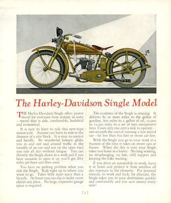 Harley-Davidson Programm 1927 1