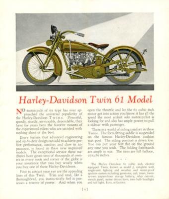 Harley-Davidson Programm 1927 2