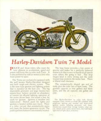 Harley-Davidson Programm 1927 3