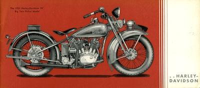 Harley-Davidson Polizei-Programm 1932 1