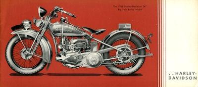 Harley-Davidson Polizei-Programm 1932 2