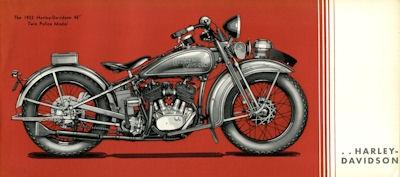 Harley-Davidson Polizei-Programm 1932 4