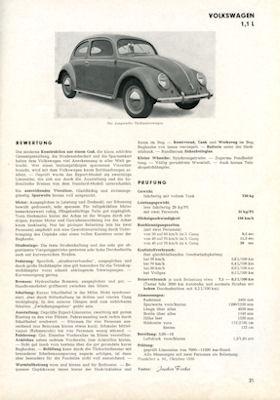 Motor-Rundschau Testbuch 1. Ausgabe 1951 1