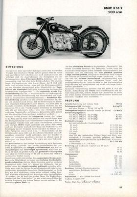 Motor-Rundschau Testbuch 1. Ausgabe 1951 2