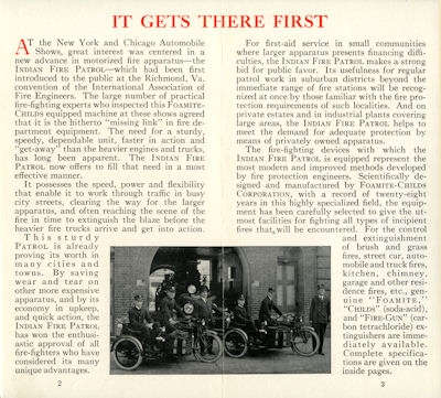 Indian Firepatrol Prospekt 7.1924 1