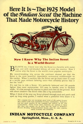 Indian Scout Prospekt 1925 2