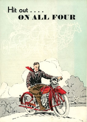 Indian 4 Prospekt 1930