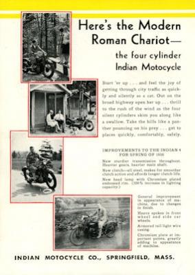 Indian 4 Prospekt 1930 1