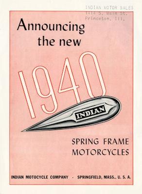 Indian Programm 1940