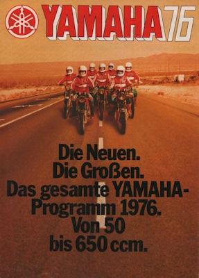 Yamaha Programm 1976 0