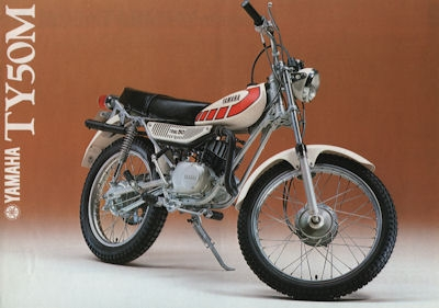 Yamaha TY 50 Prospekt 1978 0